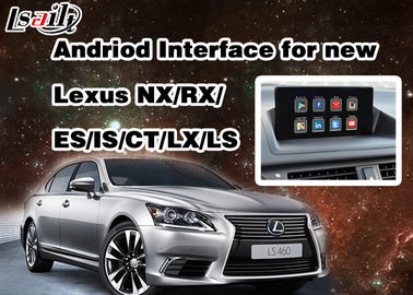 Porcellana Video interfaccia di Android 6,0 Lexus per 2014 - 2017 RX/STATO/es/STATO/NX/LX/LS con la rete di WIFI fornitore