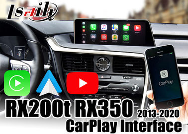 Wireless Carplay Interface Wired Android Auto  For Lexus RX200t RX350 RX450h 2013-2020