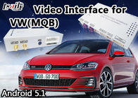 Porcellana Interfaccia di multimedia di Android 6,0 video per VW Golf 7 2014-2017 con navigazione di Mirrorlink GPS fabbrica
