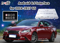 Interfaccia di Lexus di navigazione di Android 6,0 video per controllo di GS/l'interfaccia video di multimedia