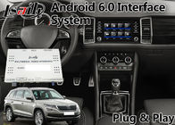 "Porcellana Video interfaccia 8"" di Volkswagen Skoda Android schermo di pollice con Waze Google fabbrica"