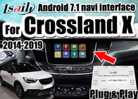 Porcellana Interfaccia dell'automobile di Android 7,1 la video per le insegne 2014-2018 di Opel Crossland X sostiene lo smartphone del mirrorlink, doppie finestre società