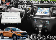 Navigazione automatica dei Gps dell'interfaccia di Android 9,0 per visualizzatore digitale Bluetooth OBD del sistema LVDS di SINCRONIZZAZIONE 3 del guardia forestale/Everest di Ford