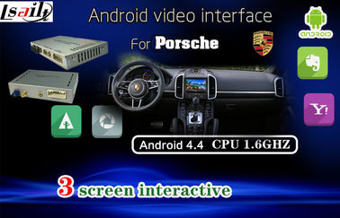 Porcellana Interfaccia automatica di Porsche PCM3.1 Android, sistema di navigazione di GPS dell'automobile per il DVD a 8 pollici dell'automobile distributore