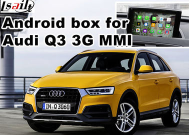 Porcellana Interfaccia di multimedia di Android video per Audi Q3, dispositivi di navigazione dei gps distributore