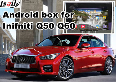 Porcellana Interfaccia del video di navigazione di Infiniti Q50 Q60 distributore