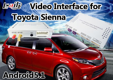 Porcellana Interfaccia di multimedia di Android 6,0 video per il supporto 360 DVR panoramico della terra di Siena 2014-2017 di TOYOTA distributore