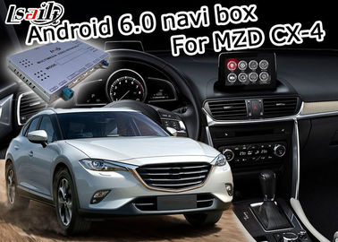 Porcellana Interfaccia Android 6,0 di multimedia di Mazda CX-4 video con controllo della manopola di origine di Mazda distributore