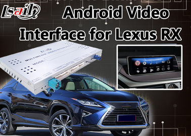 Video interfaccia di Android 6,0 Lvds per controllo 2013-2018, navigazione Mirrorlink RX270 RX450h RX350 del topo di Lexus RX di GPS