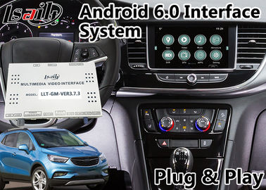 Interfaccia di navigazione di Android 6,0 video per Opel Mokka/il sistema 2014-2018 Intellilink di Crossland X/insegne