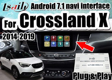 Porcellana Interfaccia dell'automobile di Android 7,1 la video per le insegne 2014-2018 di Opel Crossland X sostiene lo smartphone del mirrorlink, doppie finestre distributore