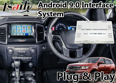 Porcellana Interfaccia automatica di Ford Everest Android per il sistema di SINCRONIZZAZIONE 3 sviluppato in Mirrorlink WIFI Bluetooth e nella navigazione di GPS fabbrica